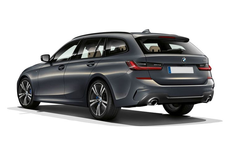 BMW 3 Series 330 Touring 2.0 e PHEV 12kWh 292PS M Sport 5Dr Auto [Start Stop] [Pro] back view