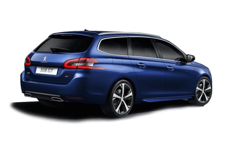 Peugeot 308 SW 5Dr 1.5 BlueHDi 130PS Active 5Dr EAT8 [Start Stop] back view