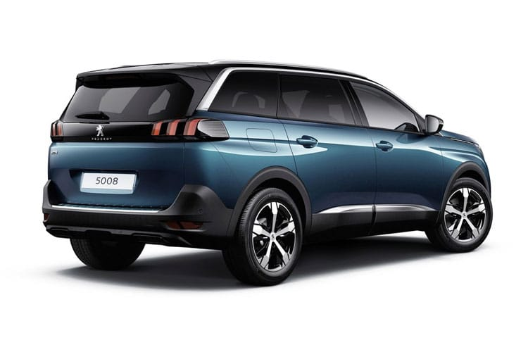 Peugeot 5008 SUV 1.5 BlueHDi 130PS Allure 5Dr EAT8 [Start Stop] back view
