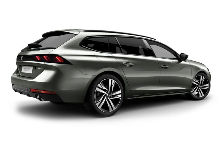 Peugeot 508 SW 5Dr HYBRID 1.6 PHEV 11.8kWh 225PS GT Line 5Dr EAT8 [Start Stop] back view