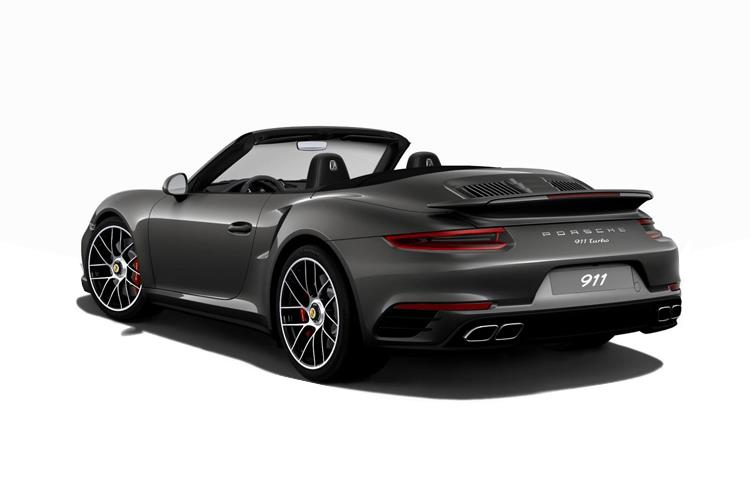 Porsche 911 Convertible 4wd 3.0 T 385PS Carrera 4 2Dr PDK [Start Stop] back view