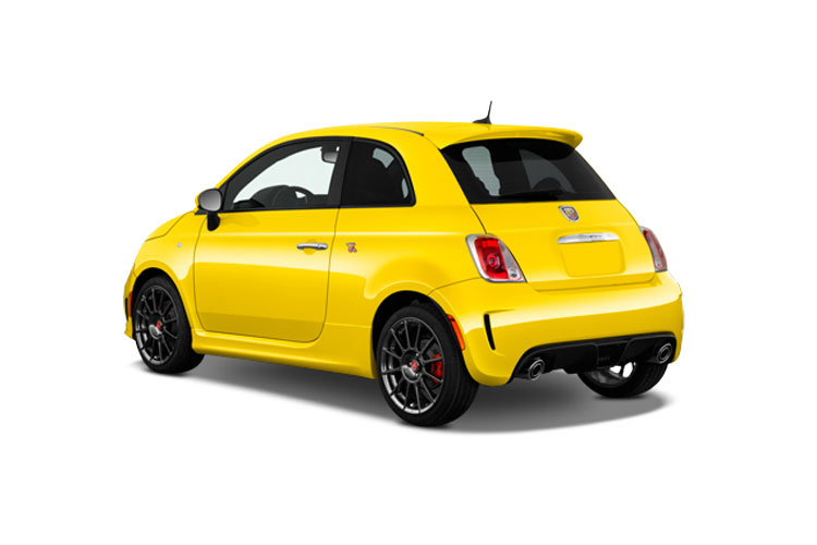 Abarth 595 Hatch 3Dr 1.4 T-Jet 180PS EsseEsse 70th 3Dr Manual back view