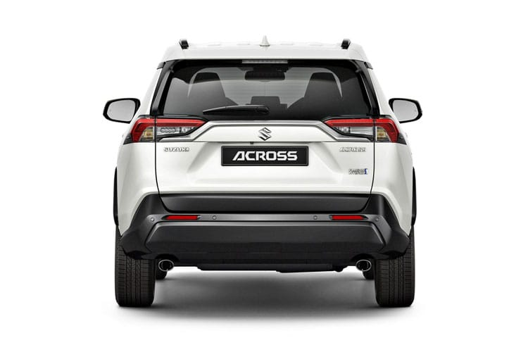 Suzuki Across SUV E-Four 2.5 PHEV 18.1kWh 287PS  5Dr E-CVT [Start Stop] back view