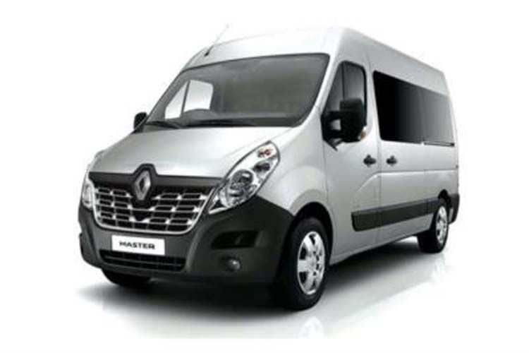 Renault Master LWBL 35TW 4X4 2.3 dCi ENERGY DR4 145PS Business Window Van Medium Roof Manual [Start Stop] back view