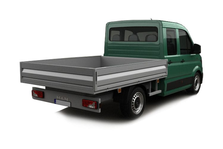 MAN TGE 3.120 3.5t Long RWD 2.0 d RWD 122PS  Chassis Double Cab Manual [Start Stop] back view