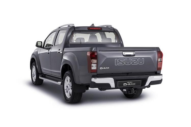 Isuzu D-MAX Pick Up Double Cab 4wd 1.9 TD 4WD 164PS Eiger Pickup Double Cab Manual back view