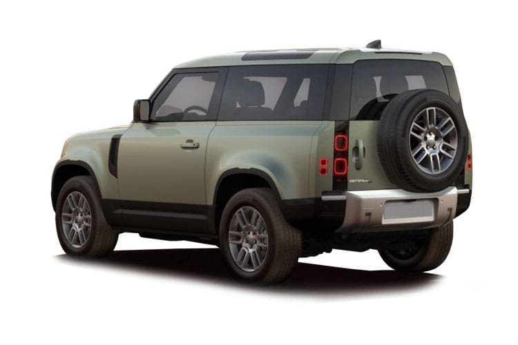 Land Rover Defender 90 SUV 3Dr 3.0 D MHEV 250PS X-Dynamic HSE 3Dr Auto [Start Stop] [6Seat] back view
