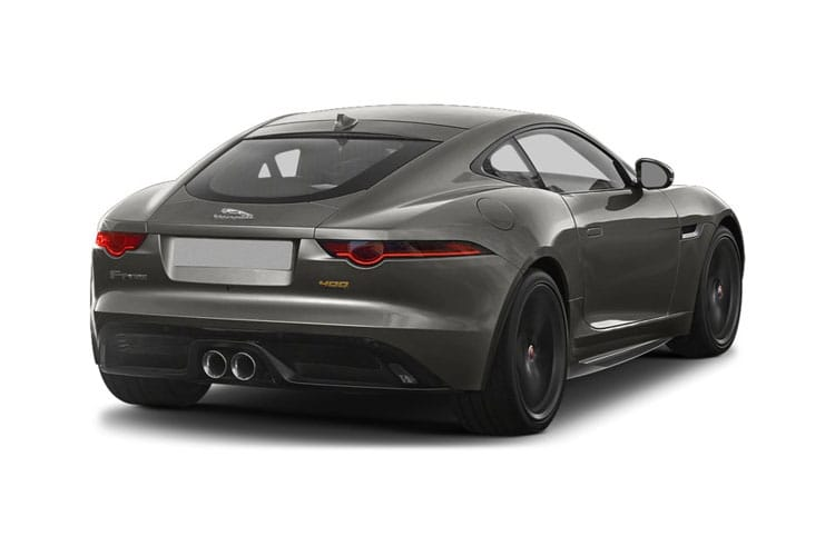 Jaguar F-TYPE Coupe 5.0 V8 450PS First Edition 2Dr Auto [Start Stop] back view