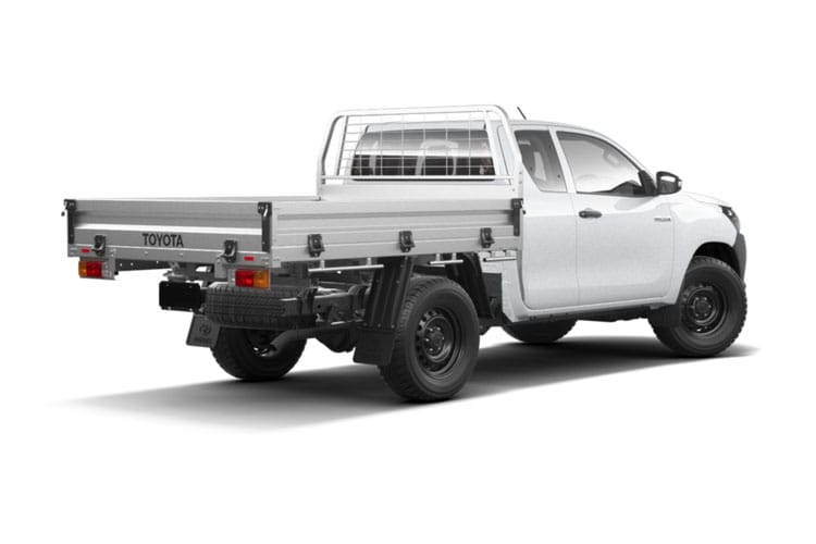 Toyota Hilux PickUp Extra Cab 4wd 3.5t 2.4 D-4D 4WD 150PS Active Tipper Tipper Double Cab Manual back view