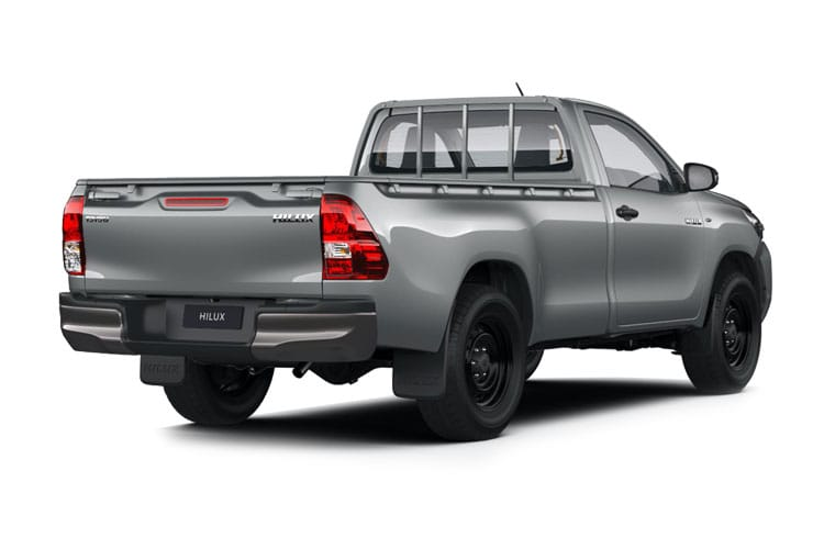 Toyota Hilux PickUp Double Cab 4wd 2.4 D-4D 4WD 150PS Icon Safety Sense Pickup Double Cab Manual [SNav] back view