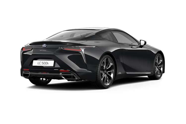 Lexus LC 500 Coupe 3.5 h V6 359PS Sport 2Dr E-CVT [Start Stop] [HUD] back view