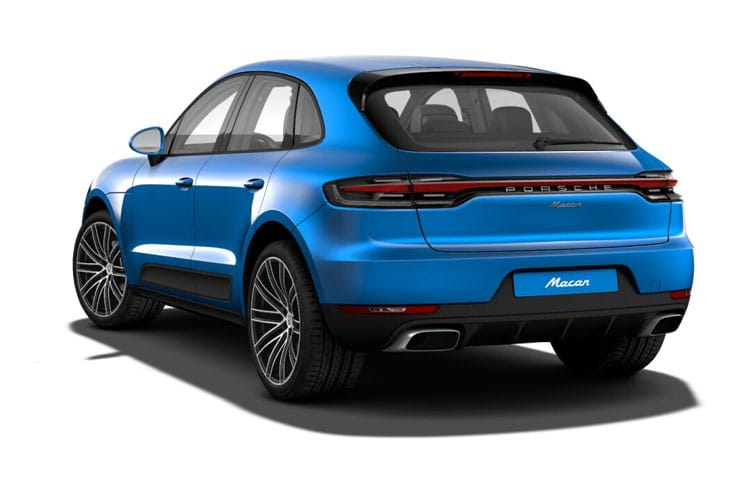 Porsche Macan SUV 4wd 2.9 T V6 380PS GTS 5Dr PDK [Start Stop] back view