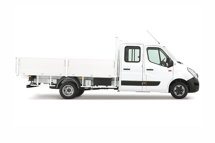 Renault Master LWB 35 RWD 2.3 dCi ENERGY RWD 145PS Business Tipper Double Cab Manual [Start Stop] back view