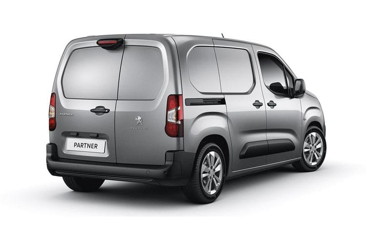 Peugeot Partner Standard 1000Kg 1.5 BlueHDi FWD 130PS Professional Van EAT8 [Start Stop] back view