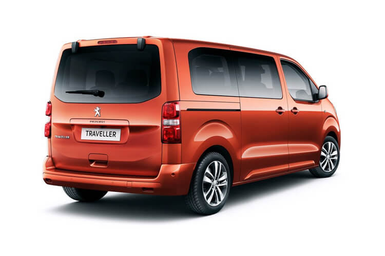 Peugeot Traveller Standard 5Dr 2.0 BlueHDi FWD 145PS Active MPV EAT [Start Stop] [8Seat] back view