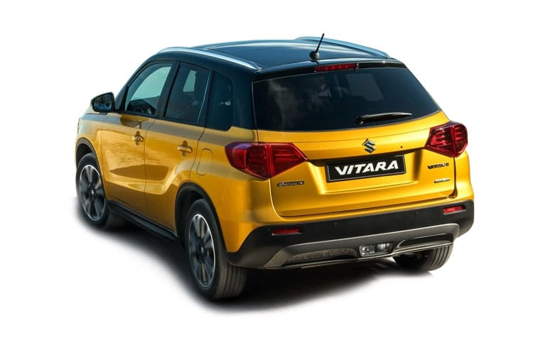 Suzuki Vitara SUV ALLGRIP 1.4 Boosterjet 140PS SZ5 5Dr Manual [Start Stop] back view