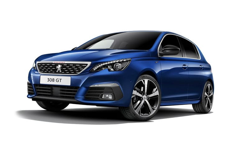 Peugeot 308 Hatch 5Dr 1.2 PureTech 110PS Active Premium 5Dr Manual [Start Stop] front view