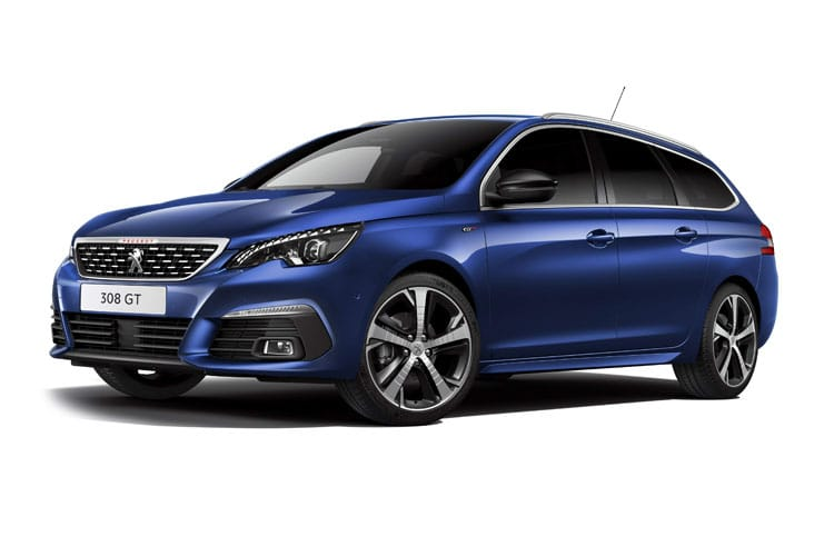 Peugeot 308 SW 5Dr 1.5 BlueHDi 130PS Active 5Dr EAT8 [Start Stop] front view