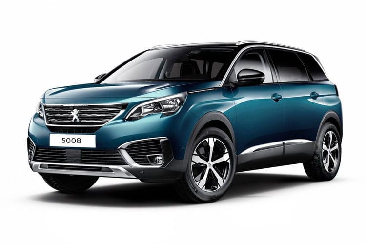 Peugeot 5008 SUV 1.5 BlueHDi 130PS Allure 5Dr EAT8 [Start Stop] front view