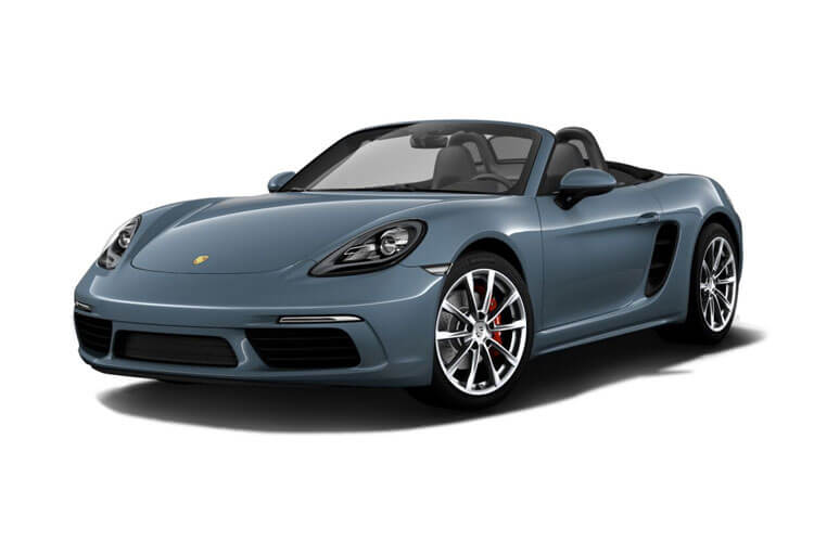 Porsche 718 Boxster Convertible 2.5 T 350PS S 2Dr PDK [Start Stop] front view