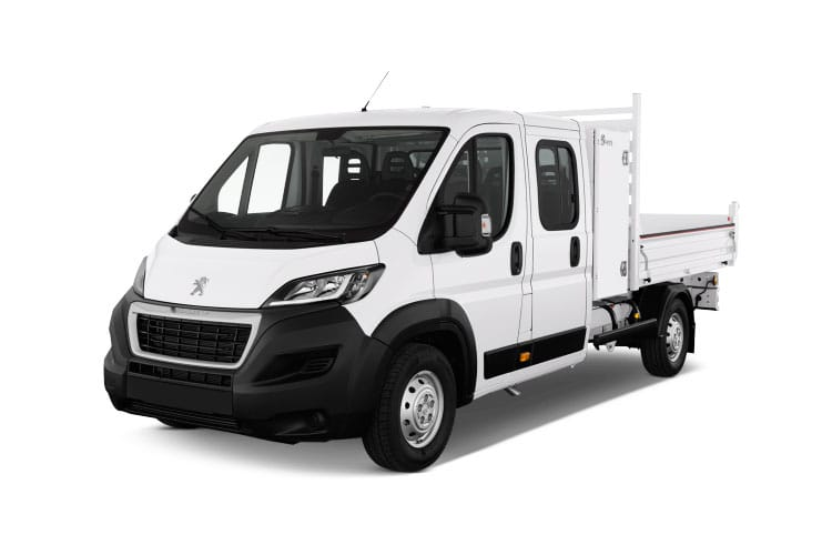 Peugeot Boxer 335 L2 2.2 BlueHDi FWD 140PS Built for Business Plus Tipper Manual [Start Stop] front view