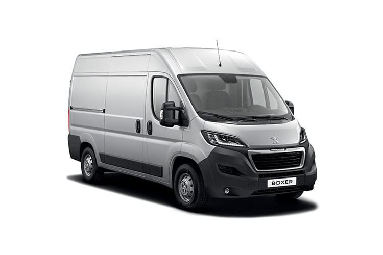 Peugeot Boxer 335 L3 2.2 BlueHDi FWD 140PS S Van High Roof Manual [Start Stop] front view