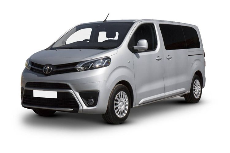 Toyota PROACE Medium M1 1.5 D FWD 120PS Combi Combi Manual [Start Stop] [9Seat] front view