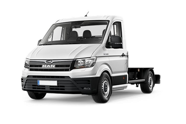 MAN TGE 3.180 3.5t Standard RWD 2.0 d BiTurbo RWD 177PS  Chassis Cab Manual [Start Stop] front view