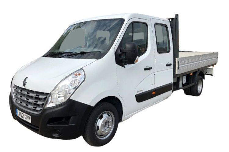 Renault Master LWB 35 FWD 2.3 dCi ENERGY FWD 150PS Business Dropside Double Cab Manual [Start Stop] [Tail Lift] front view