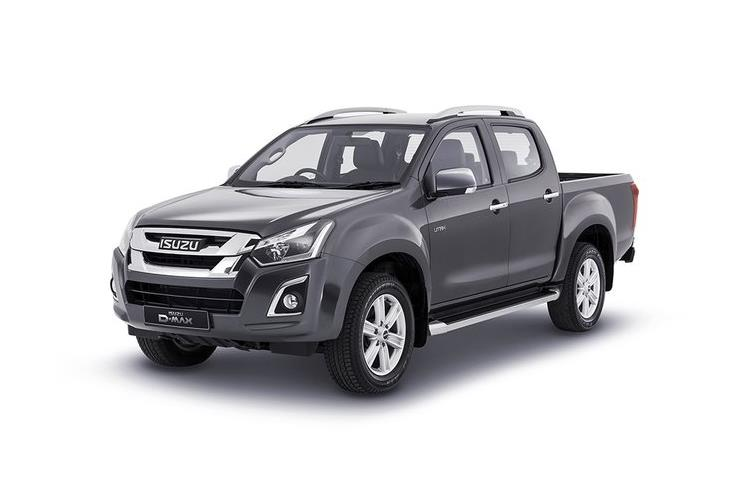 Isuzu D-MAX Pick Up Double Cab 4wd 1.9 TD 4WD 164PS Eiger Pickup Double Cab Manual front view
