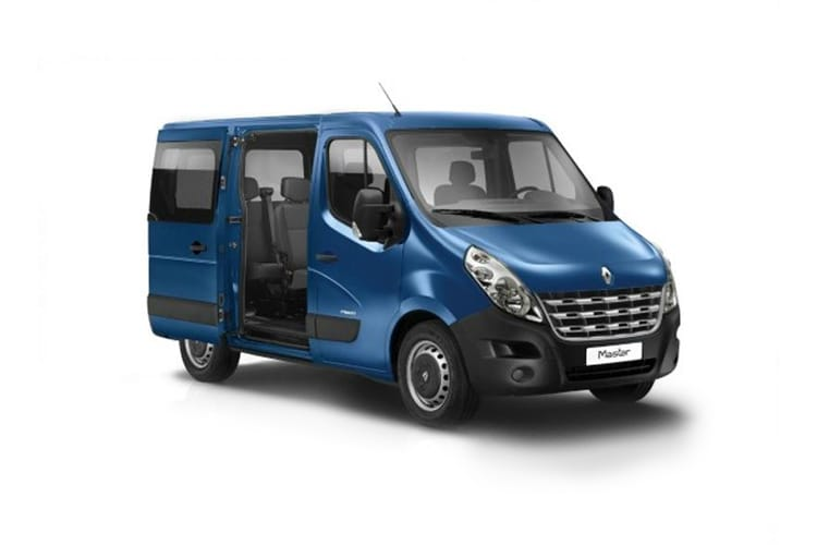 Renault Master MWB 35 FWD M1 2.3 dCi ENERGY FWD 170PS Business Combi Medium Roof Manual [Start Stop] [9Seat] front view