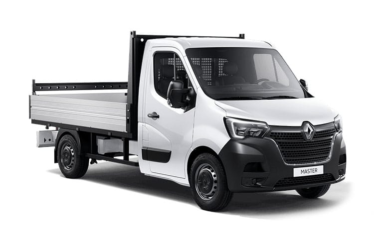 Renault Master LWB 35 FWD 2.3 dCi ENERGY FWD 150PS Business Dropside Manual [Start Stop] [Tail Lift] front view