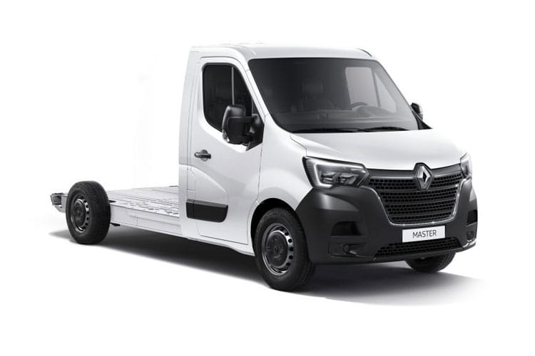 Renault Master MWB 35 FWD 2.3 dCi FWD 135PS Business Platform Cab Manual front view