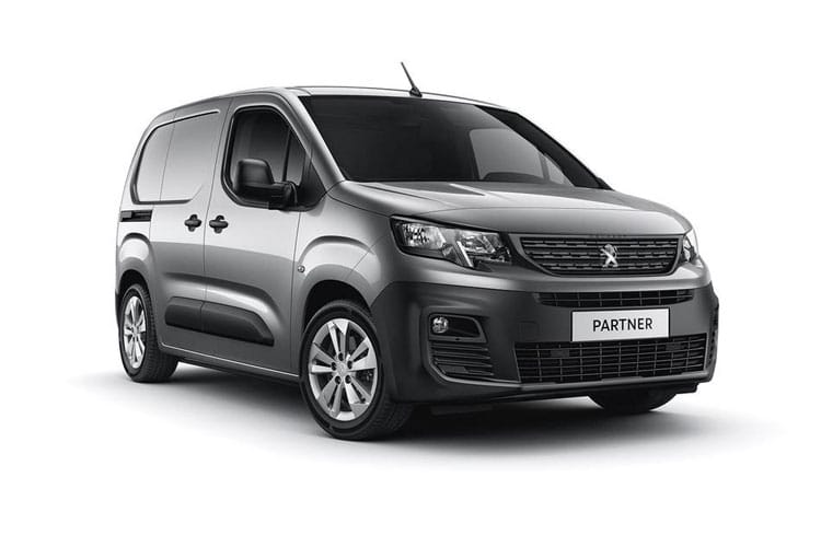 Peugeot Partner Standard 1000Kg 1.5 BlueHDi FWD 100PS Grip Van Manual front view