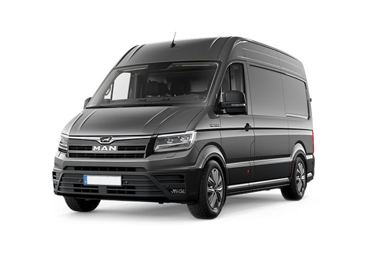 MAN TGE 2.100 3.0t Standard FWD 2.0 d FWD 102PS  Van Medium Roof Manual [Start Stop] front view