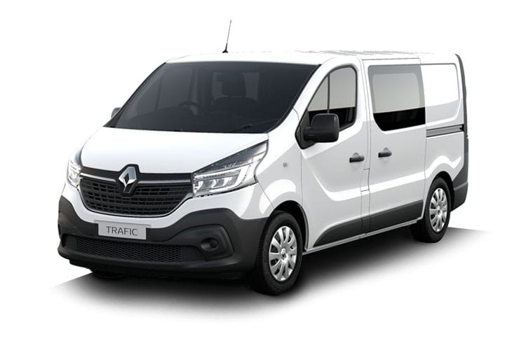 Renault Trafic 29 SWB 1.6 dCi ENERGY FWD 95PS Sport Nav Crew Van Manual [Start Stop] front view