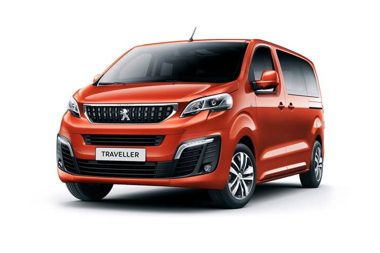Peugeot Traveller Standard 5Dr 2.0 BlueHDi FWD 145PS Active MPV EAT [Start Stop] [8Seat] front view