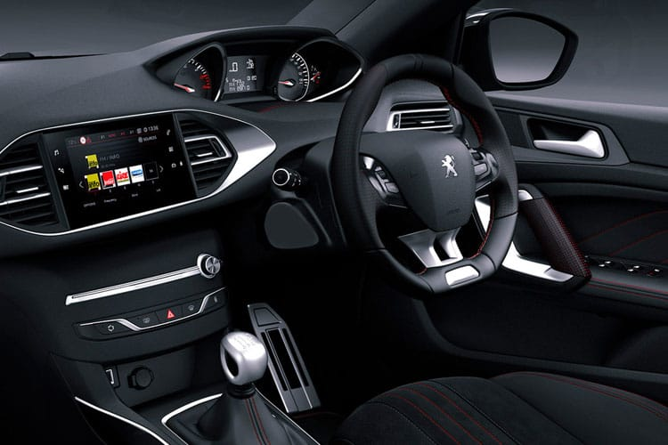 Peugeot 308 SW 5Dr 1.5 BlueHDi 130PS Active 5Dr EAT8 [Start Stop] inside view