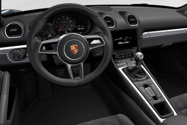 Porsche 718 Spyder 4.0  420PS  2Dr PDK [Start Stop] inside view