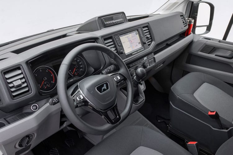 MAN TGE HGV 6.120 5.0t Extra Long DRW 2.0 d DRW 122PS  Chassis Cab Manual [Start Stop] inside view