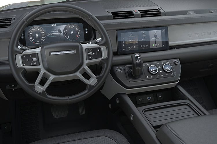 Land Rover Defender 90 SUV 3Dr 3.0 D MHEV 250PS X-Dynamic HSE 3Dr Auto [Start Stop] [6Seat] inside view