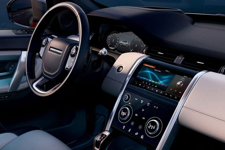 Land Rover Discovery Sport SUV 2.0 D MHEV 163PS R-Dynamic S Plus 5Dr Auto [Start Stop] [5Seat] inside view