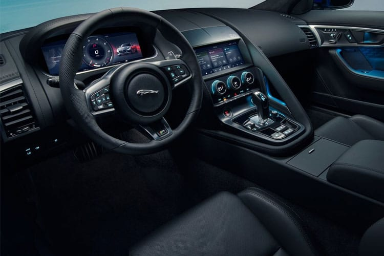 Jaguar F-TYPE Coupe 5.0 V8 450PS First Edition 2Dr Auto [Start Stop] inside view