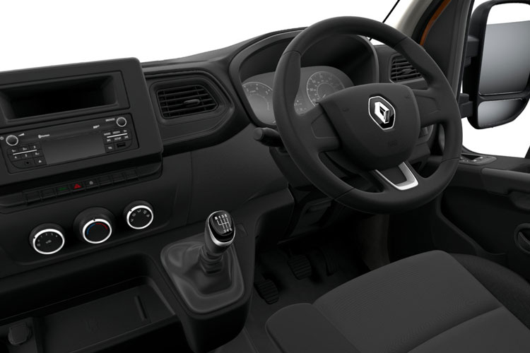 Renault Master MWB 35 FWD 2.3 dCi FWD 135PS Business Platform Cab Manual inside view
