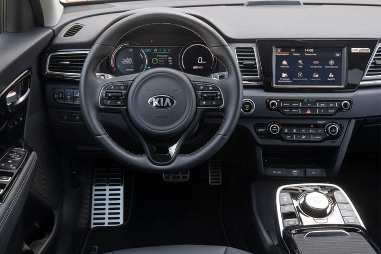 Kia Niro SUV 5Dr 1.6 GDi PHEV 8.9kWh 139PS 3 5Dr DCT [Start Stop] inside view