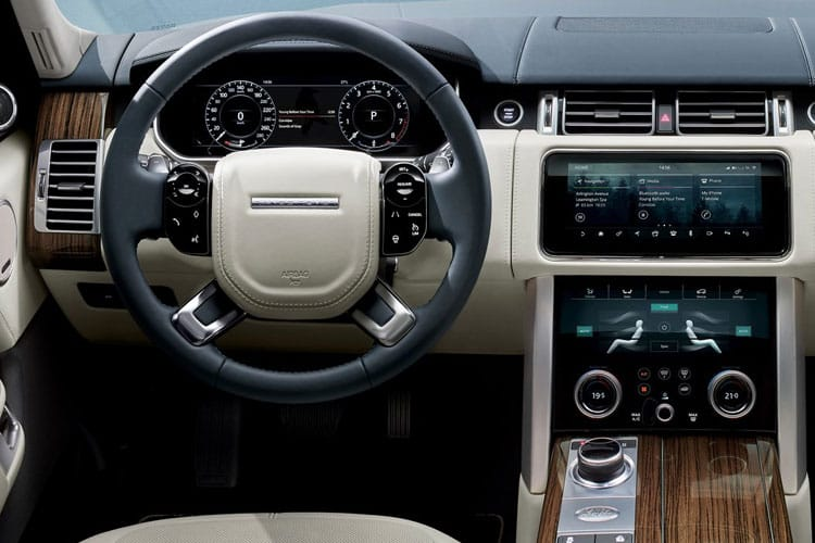 Land Rover Range Rover SUV 3.0 P MHEV 400PS Autobiography 5Dr Auto [Start Stop] inside view