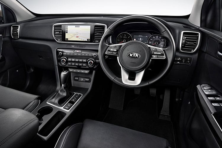 Kia Sportage SUV 2wd 1.6 CRDi MHEV 134PS JBL Black Edition 5Dr DCT [Start Stop] inside view