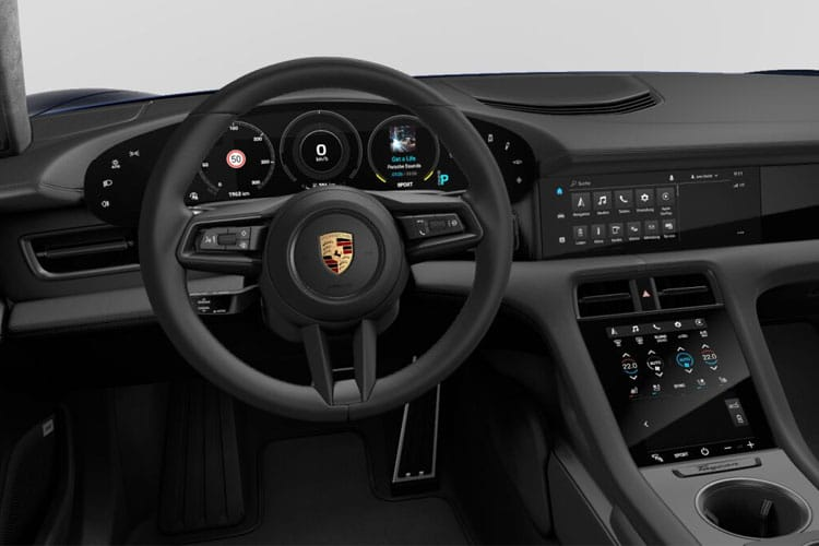 Porsche Taycan Saloon 4wd Elec 93.4kWh 360KW 490PS 4S 4Dr Auto [Performance] inside view