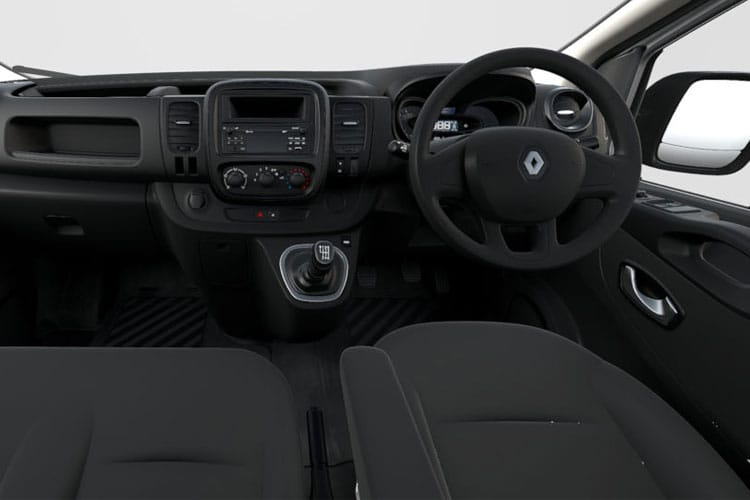 Renault Trafic 29 SWB 1.6 dCi FWD 120PS Business Van Manual inside view