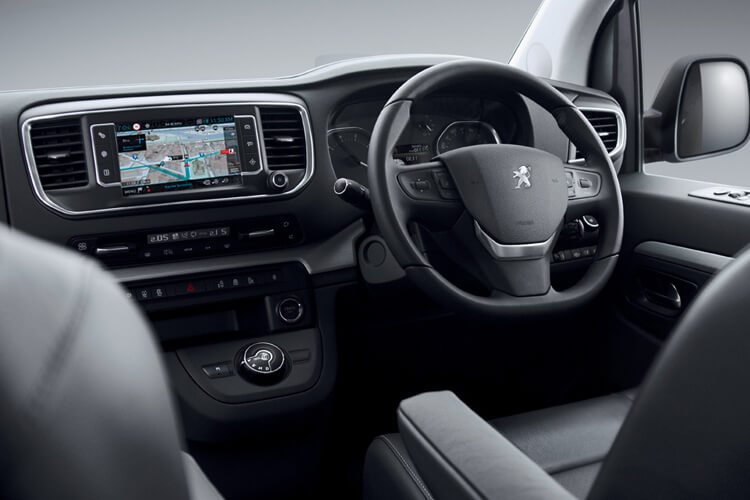 Peugeot Traveller Standard 5Dr 2.0 BlueHDi FWD 145PS Active MPV EAT [Start Stop] [8Seat] inside view